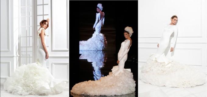 trajes de novia flamenca complementos