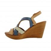 tienda sandalias madera piel online verano