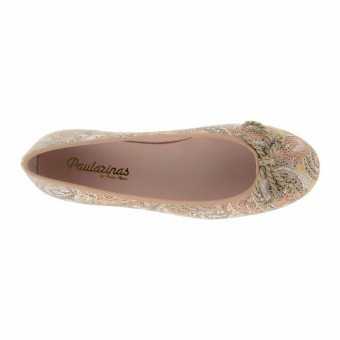 bailarinas made in spain beige