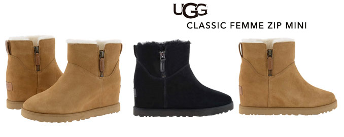 Novedades-Ugg-Classic-femme-zip-mini