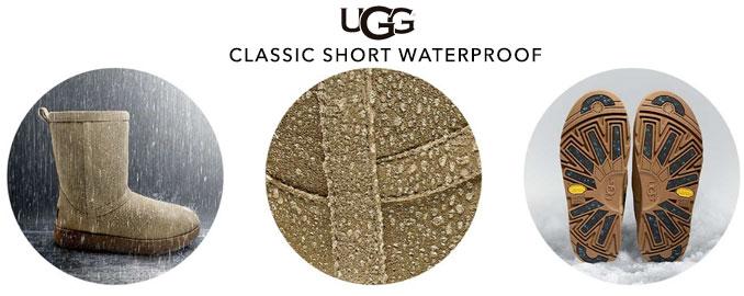 Ugg botas impermeables