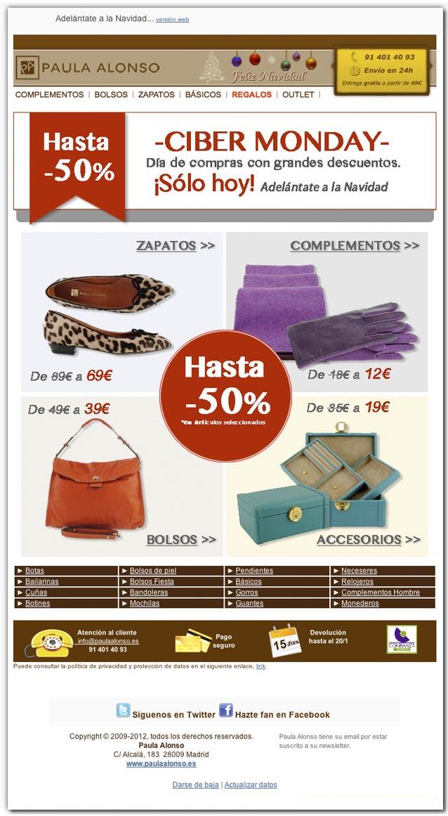 Newsletter Verano 2012 Paula Alonso Moda Complementos