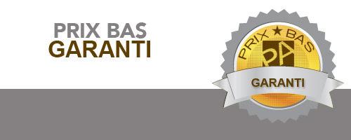 Prix bas garanti